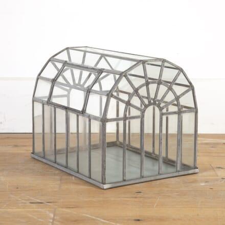 Early 20th Century Lead and Glass Terrarium GA8214243