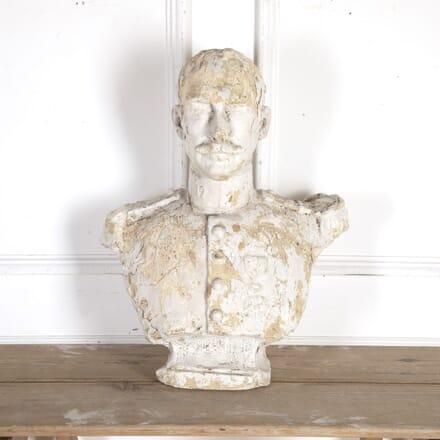 Early 20th Century Plaster Bust DA8213966
