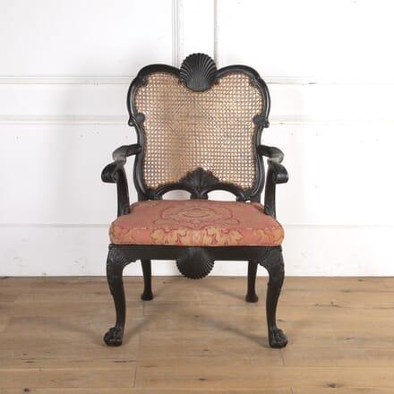 19th Century Ebonised Armchair CH8416110