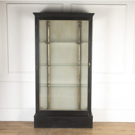 Ebonised Display cabinet CU3613742