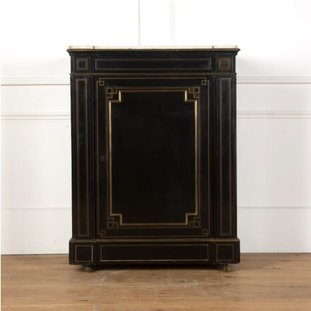 Ebonised Pedestal Cabinet DA3611012