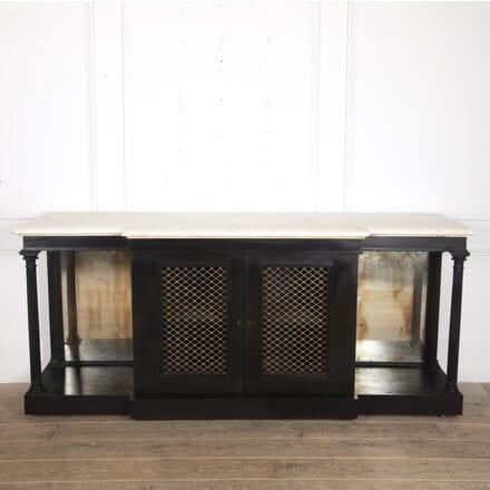 English 19th Century Ebonised Side Cabinet BU8416264