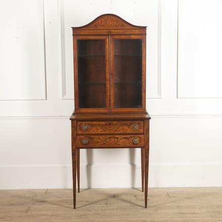 Edwardian Satinwood Cabinet CU1315960