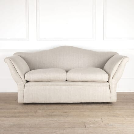 Edwardian Camelback Sofa SB0514514