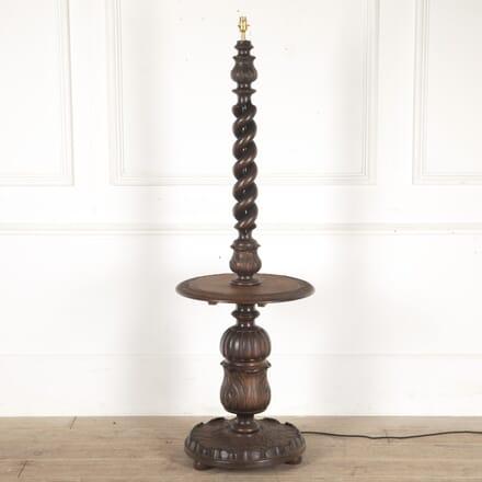 Carved Edwardian Floor Lamp LF0814016