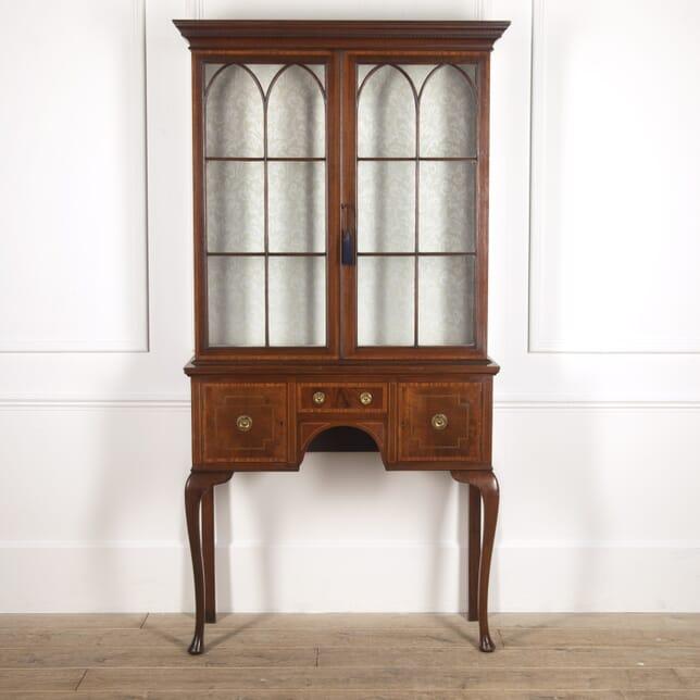 Edwardian Mahogany Inlaid Display Cabinet CU8816559