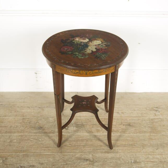 Edwardian Mahogany Occasional Table CO889709