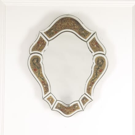 French Églomisé Shield Mirror MI3014427