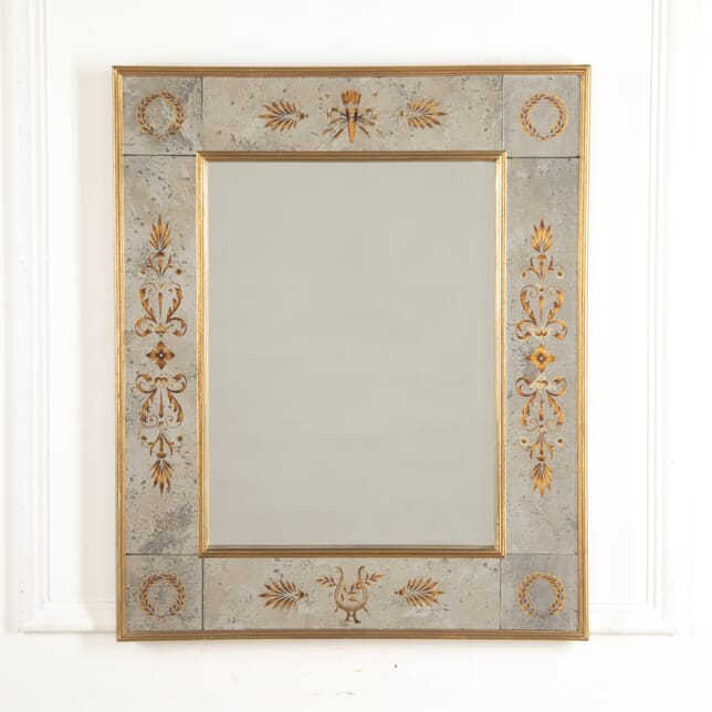 French Neoclassical Eglomise Mirror MI3015979