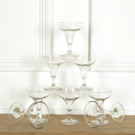 Eight Hollow Stem Champagne Coupes DA159099