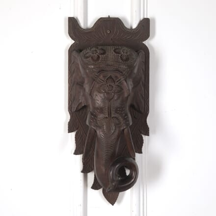 Elephant Wall Plaque WD108738