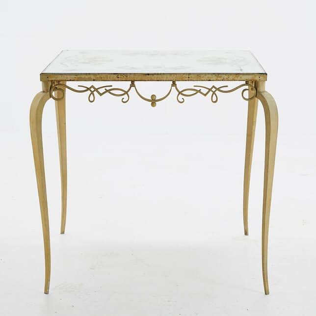 1940s Mirror Top Table By Pierre Lardin CO0610642