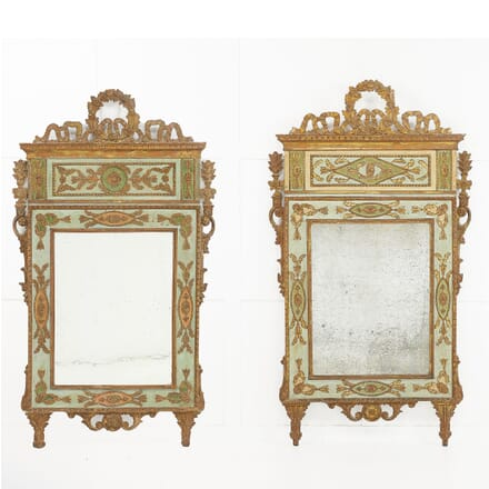 Pair of 18th Century Italian Mirrors MI0610189
