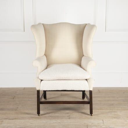 English 18th Century Wingback Armchair CH4114477