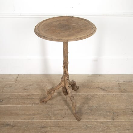 English 19th Century Carved Side Table TC2815971
