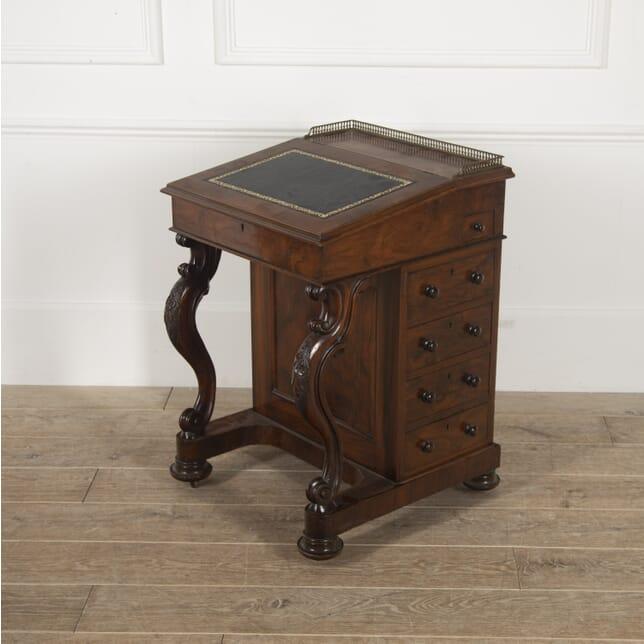 English 19th Century Walnut Davenport DB8814838