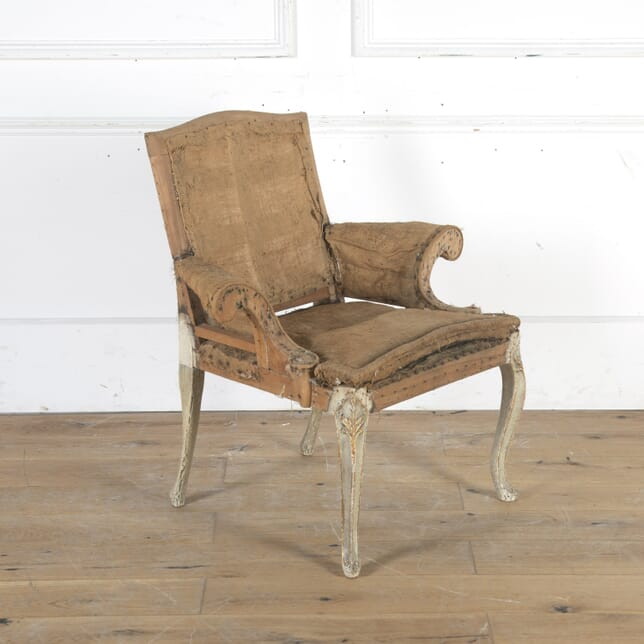 English Armchair with Original Paintwork CH3615990