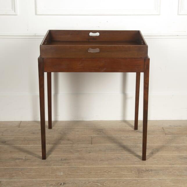 English Mahogany Butler's Tray Table CO1515205