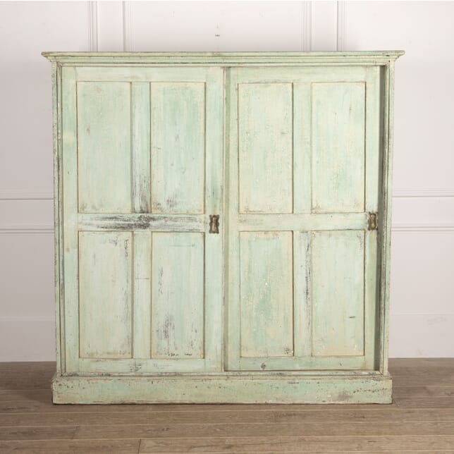 English 19th Century Painted Cupboard OF3515012