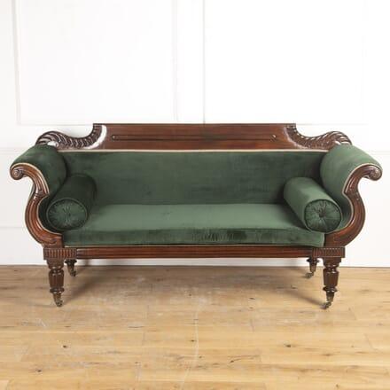 English Regency 19th Century Mahogany Sofa SB8716711