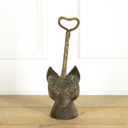 English Fox and Crop Doorstop OF159085