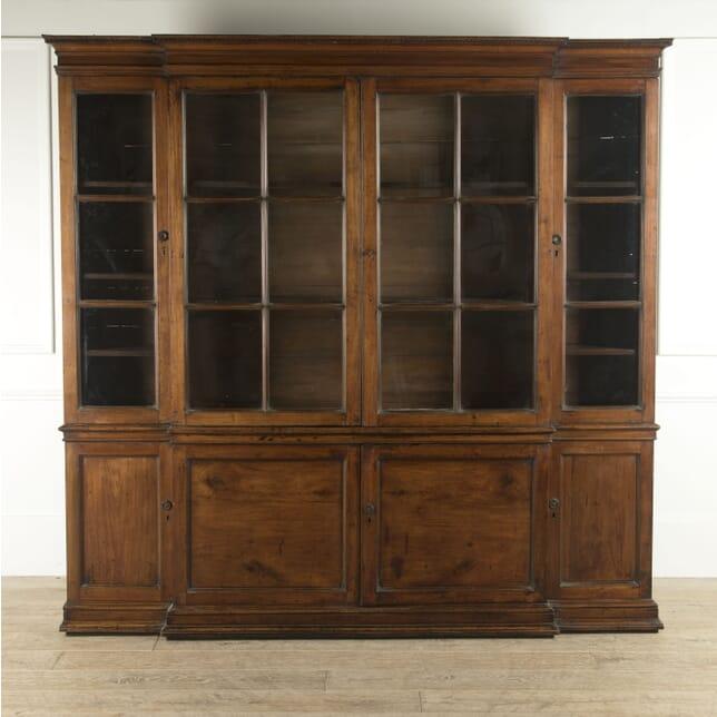 English Fruitwood Bookcase BK0410351