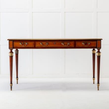 English Mahogany & Satinwood Writing Table DB0617129