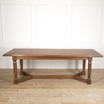 Large English Oak Dining Table TD8816485