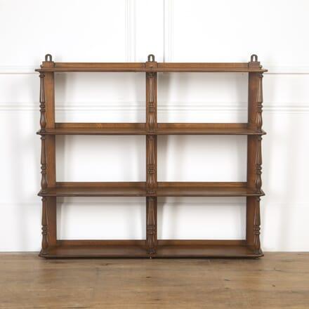 English Oak Hanging Shelves DA8517033