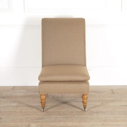 English Oak Slipper Chair CH0114766