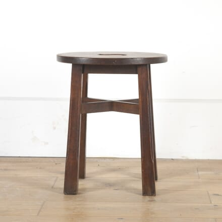 English Oak Stool ST3613740