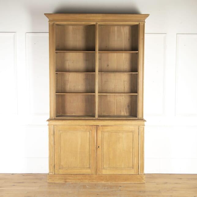 English Painted Bookcase BK3614518