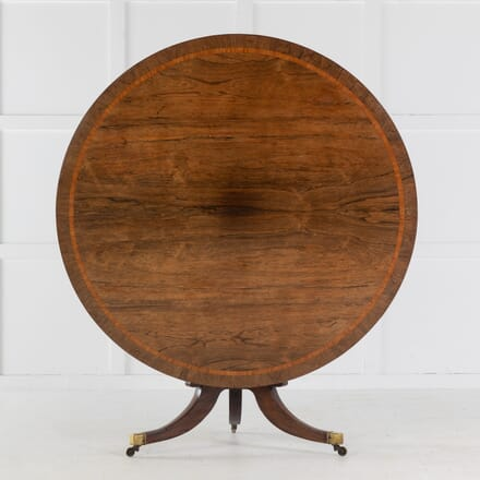 English Regency Rosewood Circular Table DA0613700