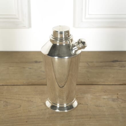 English Silver Plated Spout Cocktail Shaker CT589628