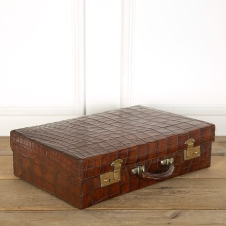 English Crocodile Suitcase DA359016