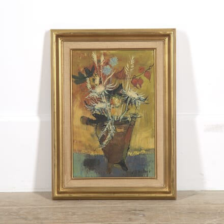 French Expressionist Oil on Canvas DA3014774