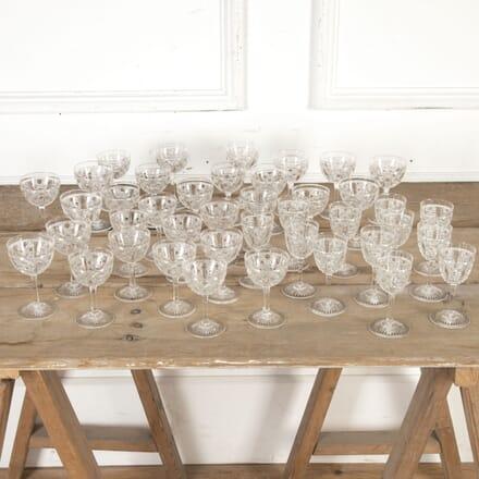 Large Set of Victorian Drinking Glasses DA5815477
