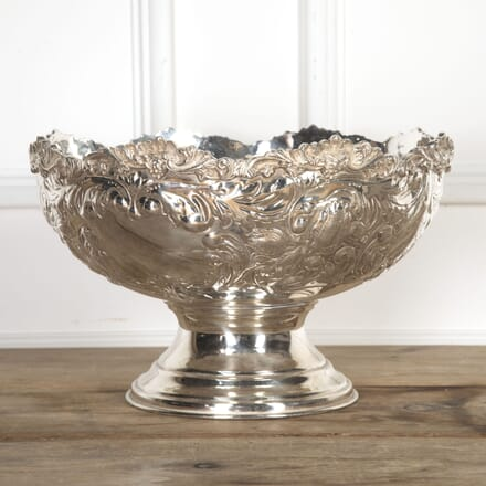 Extra Large Silver Plated Punch Bowl DA5816903
