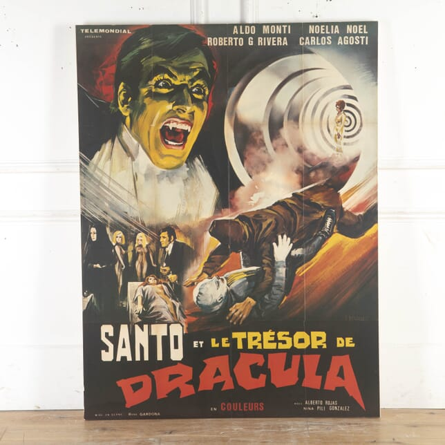 Original French Dracula Movie Poster WD8715367