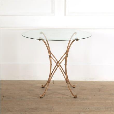 Faux Bamboo Iron Table TC1311432