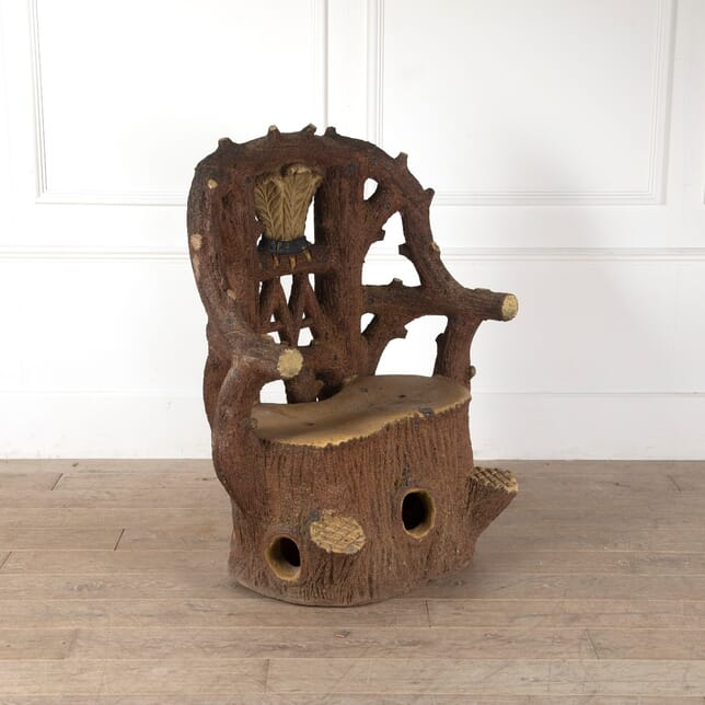 Faux Bois Seat by W Tickle And Son GA0911492