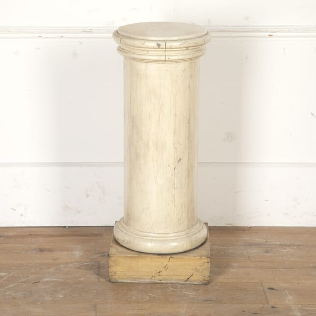 Marble and Gesso Neoclassical Plinth OF4016738