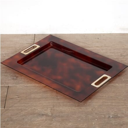 Faux Tortoiseshell Cocktail Tray DA3011450