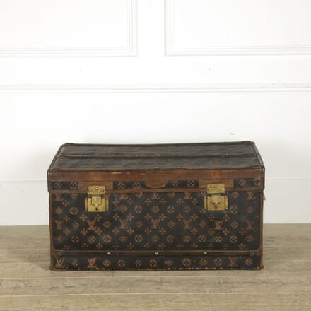 Film Prop Trunk in the Style of Louis Vuitton CB139985