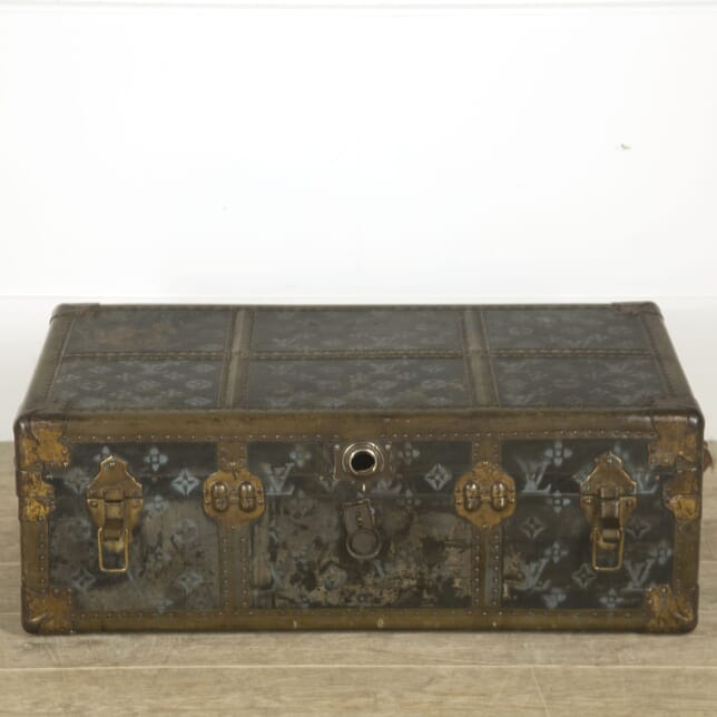 Film Prop Trunk in the Style of Louis Vuitton CB139986