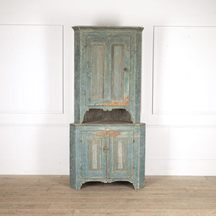 Folk Art Corner Cabinet CU6013675
