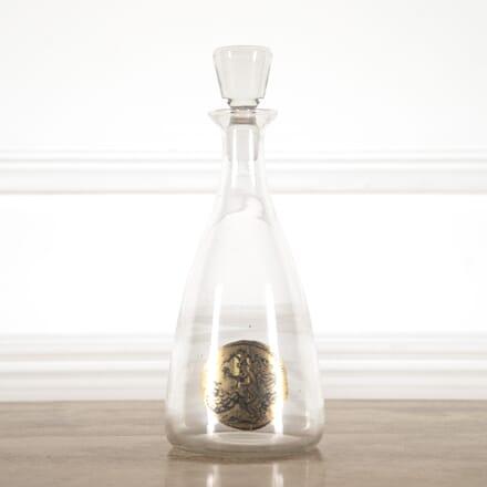Italian Glass Decanter attributed to Fornasetti DA7814480
