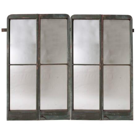 Pair of 18th Century French Mirrored Doors MI5157651