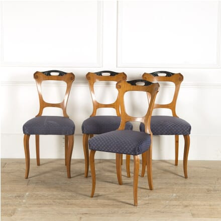 Four Biedermeier Dining Chairs CD889720
