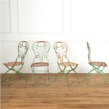 Four French Garden Chairs GA7510999